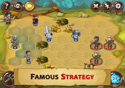 Braveland Heroes Mod Apk Download For Android and Iphone 5
