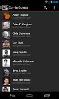Screenshot of NYCC Mobile