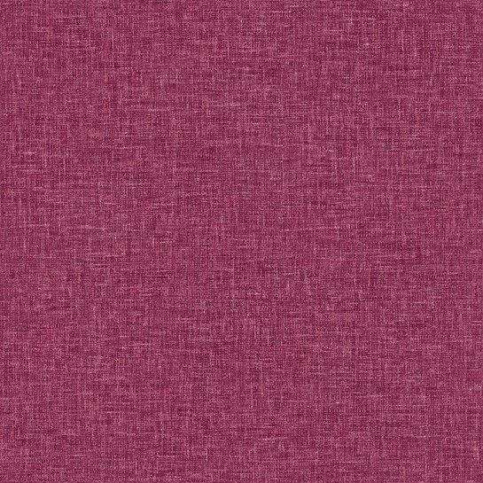 Fantasia Tapet med linnekänsla Hallonröd Raspberry 001676