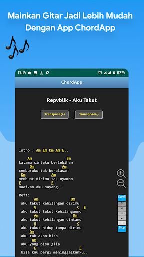 2020 Chordapp Kunci Gitar Lirik Offline Dan Tuner Android App Download Latest