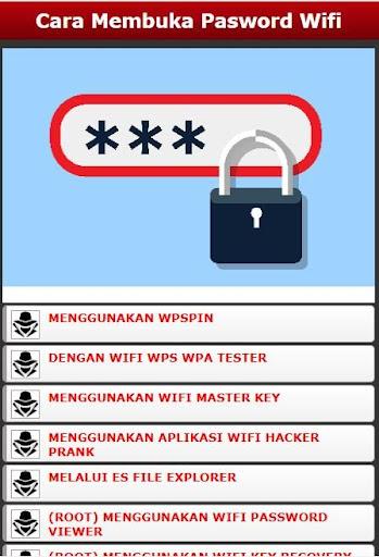 Cara Tampilkan Password Wifi 1.0 screenshots 1