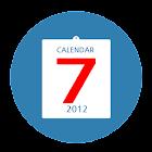 하나캘린더L(음력,달력,위젯,일정,메모,기념일,보조등) icon