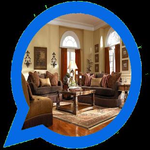 Nábytek z dřevěného obývacího pokoje - náhled