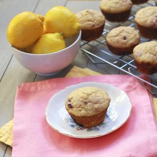 Lemon Berry Buttermilk Muffins