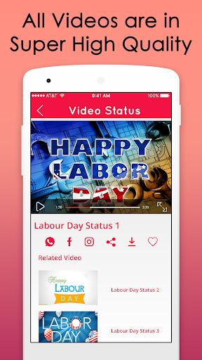 Labour Day Video Songs Status 2018 screenshot 3