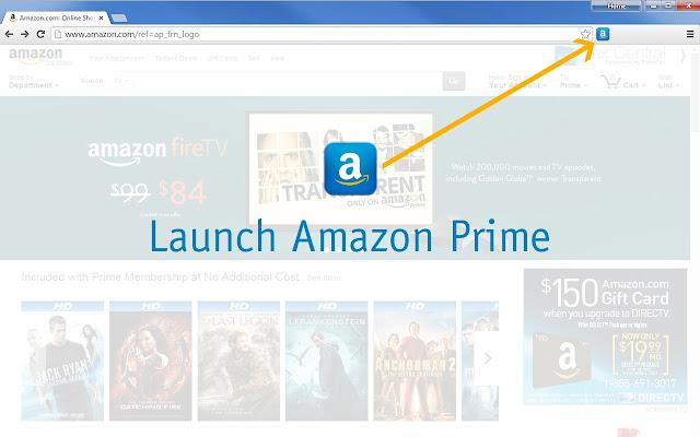 Amazon Prime Launcher