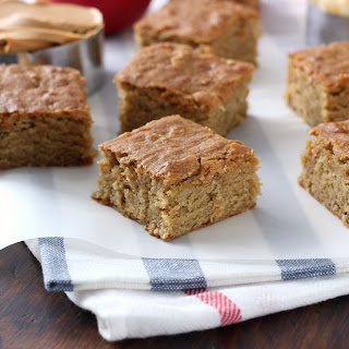 Chewy Peanut Butter Apple Bars.