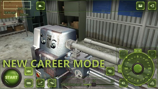 Lathe Machine 3D: Milling & Turning Simulator Game  Apk Download For Android and Iphone 3
