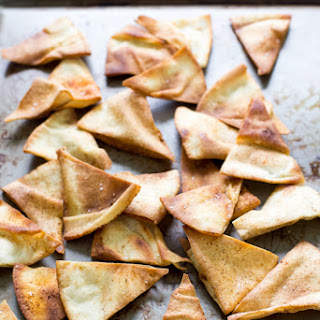Homemade Spicy Pita Chips