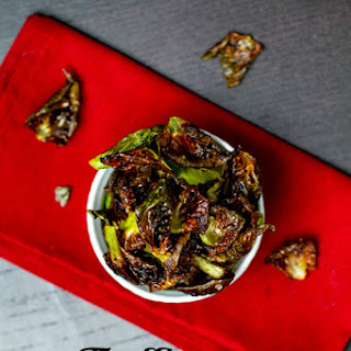 Truffle Brussels (Sprouts) Chips