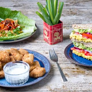 Burmese Tofu Three Ways
