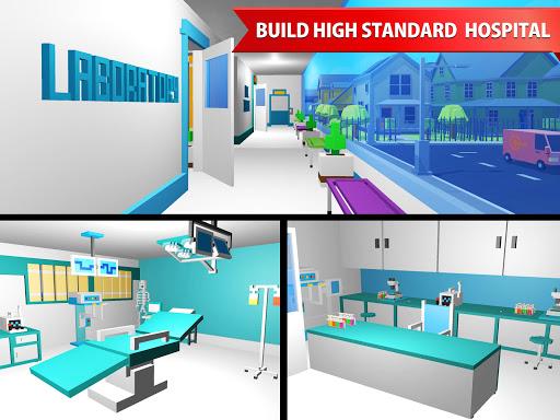 Hospital Craft: Building Doctor Simulator Games 3D 1.2 screenshots 7