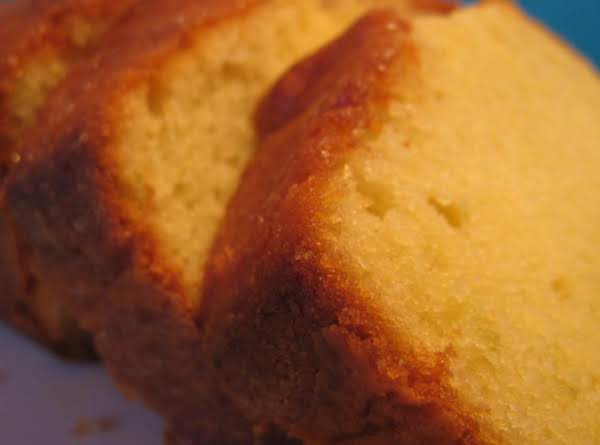 Dad's Pound Cake Recipe