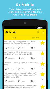 BuzzIt: Location Based Chat (Unreleased)- screenshot thumbnail