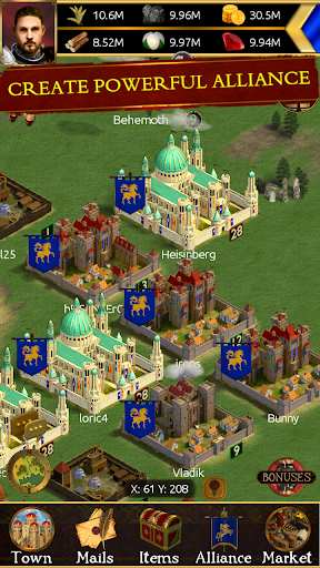 Edorium. Online strategy android2mod screenshots 2