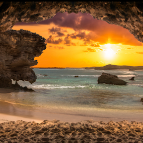 Cave's Eye View by Andy Taber - Landscapes Caves & Formations (  )