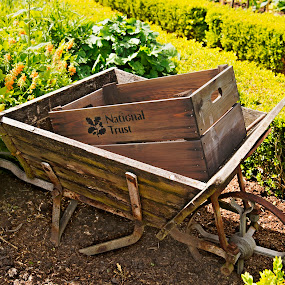 Wheelbarrow by Andrew Robinson - Artistic Objects Other Objects ( hdr, wheelbarrow, packwood, packwood house )