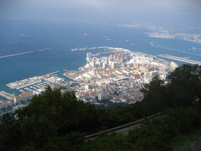 Photo: Kaya'dan Gibraltar. Gibraltar view from the Rock.
