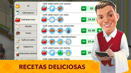 My Cafe: Recipes & Stories - Juego de Restaurante Screenshot