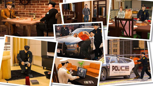 virtual police officer simulator: cops and robbers