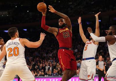 La nuit en NBA: Cleveland sauvé par le King, Golden State n'a pas eu besoin de Curry