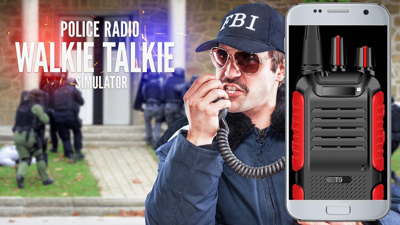 walkie talkie police radio android apps on google play