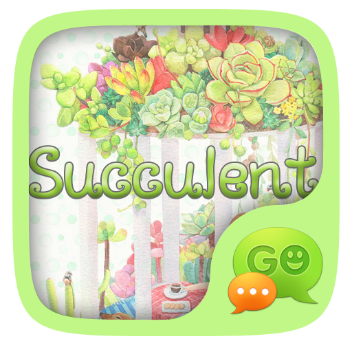 (FREE) GO SMS SUCCULENT THEME