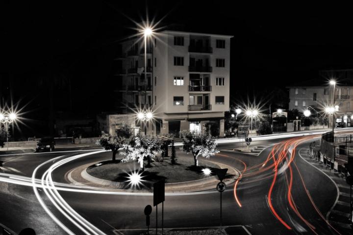 Traffic Roundabout of Pietra Ligure di Massimo Tiozzo