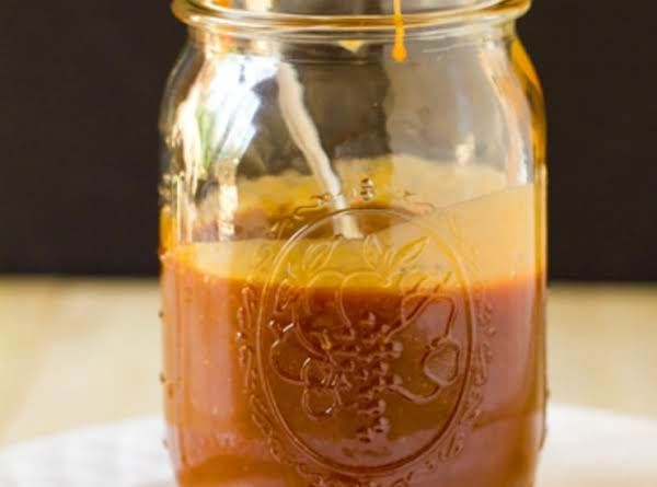 Creamy Salted Caramel Sauce