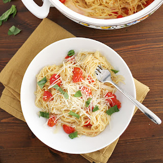 One Pot Pasta with Tomatoes and Basil