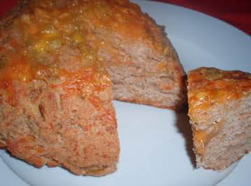 Southwestern Green Chile Cheese Bread