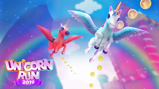 Unicorn Runner 2020: Running Game. Magic Adventure filehippodl screenshot 7