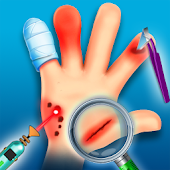 Virtual Hand Doctor: Surgery Operation Game