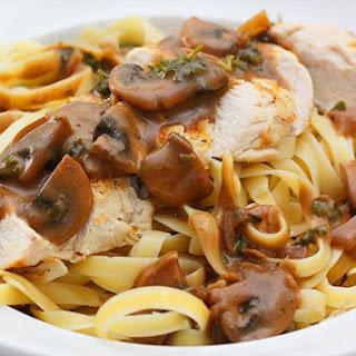 Grilled Chicken Mushroom Sauce