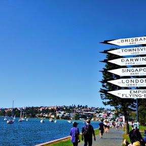 【世界の街角】オーストラリア・シドニーの水上空港がある静かな海辺「ローズ・ベイ(Rose Bay)」