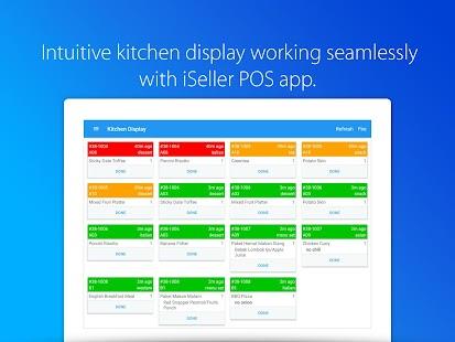 iSeller Kitchen Display - náhled