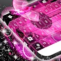 Keyboard Pink Lights icon