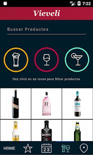 Vieveli - bebidas y licores - náhled