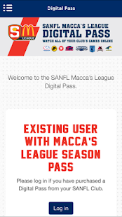 The Official SANFL App- screenshot thumbnail