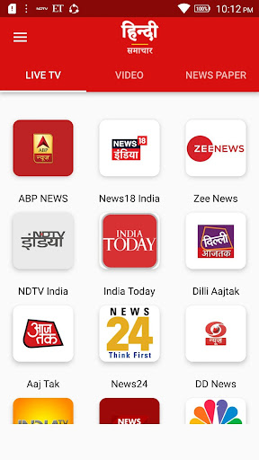 Download Hindi News Live TV 24X7 on PC & Mac with AppKiwi