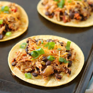 Slow Cooker Shredded Mexican Chicken.