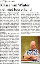 Photo: DCIJ-nieuws. Klasse van Winter net niet toereikend. 22 september 2011