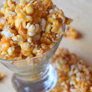 Nutty Salted Caramel Popcorn.