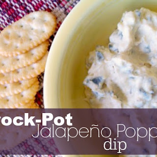 Crock-Pot Jalapeno Popper Dip Recipe