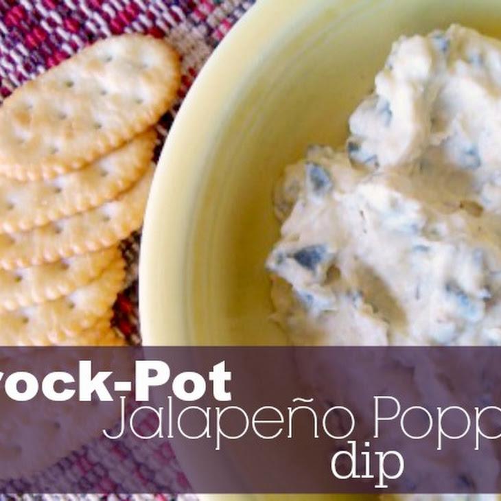 Crock-Pot Jalapeno Popper Dip