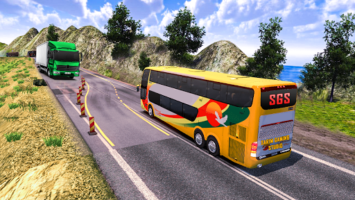 Offroad Tourist Bus Uphill Mountain Drive 1.0 screenshots 1