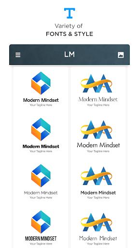 Logo Maker - Free Graphic Design Creator, Designer 130 screenshots 12