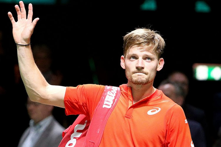 Geen halve finale: Goffin geeft setwinst en break voorsprong nog uit handen in Rosmalen