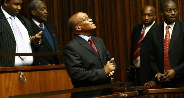 Jacob Zuma in court. Picture: SUPPLIED
