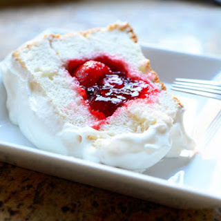 Strawberry Sparkle Cake.